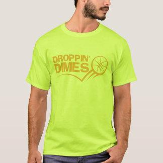Camiseta Monedas de diez centavos de Droppin