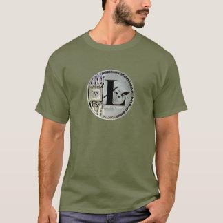 Camiseta monedas del litecoin