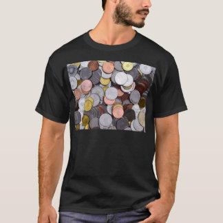 Camiseta monedas rumanas