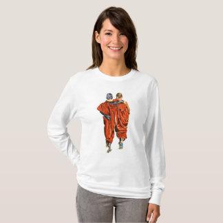 Camiseta Monjes budistas