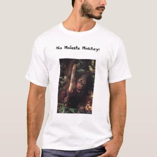 Camiseta Mono en árbol