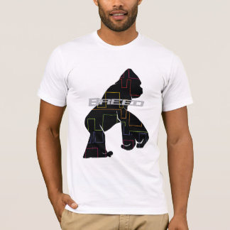 Camiseta Mono negro del modelo