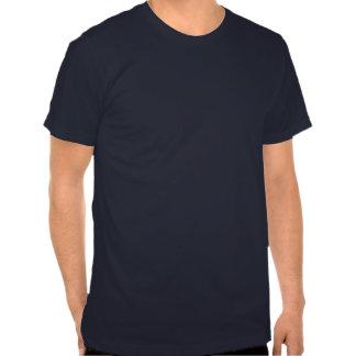 camiseta monocromática blanco y negro del cráneo
