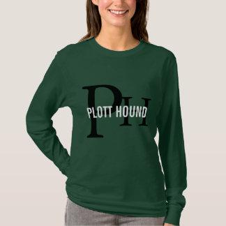 Camiseta Monograma de la raza del perro de Plott