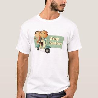 Camiseta Monos elegantes de la vespa de la estancia