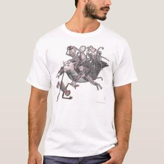 Camiseta ¡Monos que llevan del cerdo del vuelo!