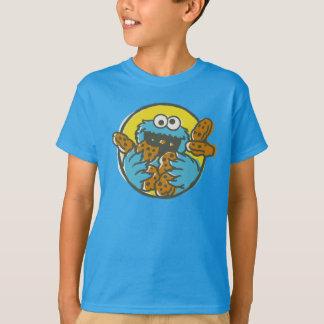 Camiseta Monstruo de la galleta retro