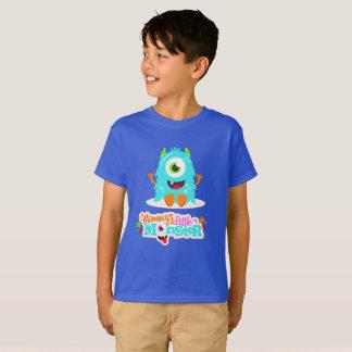 Camiseta Monstruo de Mommys Little Boy