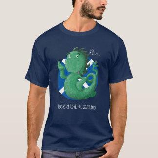 Camiseta Monstruo pequenito de Loch Ness del Nessie