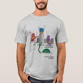 Camiseta monstruos de la roca