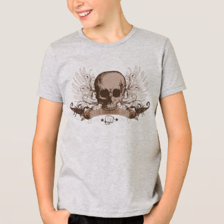 Camiseta Montaje del cráneo - bronce