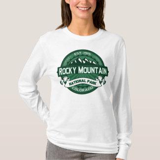 Camiseta Montaña rocosa NP Forest Green