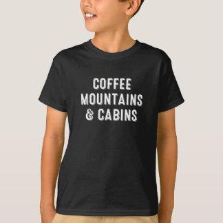 Camiseta Montañas y cabinas del café