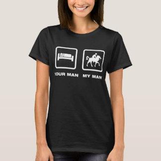 Camiseta Montar a caballo