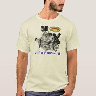 Camiseta MoPar 6 de cabeza llana