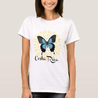 Camiseta Morpho azul Costa Rica de la mujer