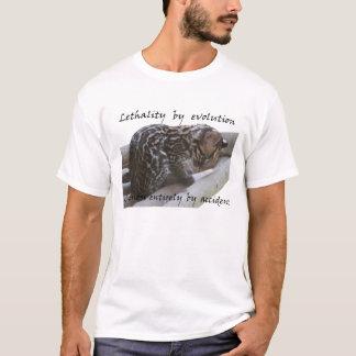 Camiseta Mortalidad desarrollada. Cuteness. accidental
