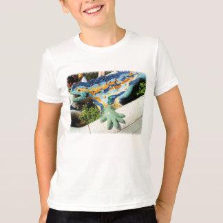 Camiseta Mosaicos del lagarto de Gaudi