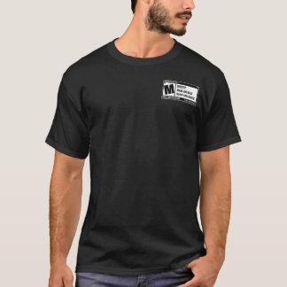 Camiseta Mosh la PARTE POSTERIOR del LOGOTIPO del ms de la