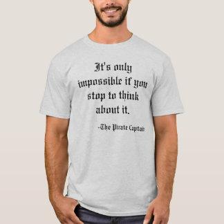 Camiseta Motivación del pirata