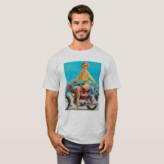 Camiseta Motocicleta modela