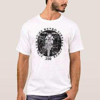 Camiseta Motocicleta retra del vintage