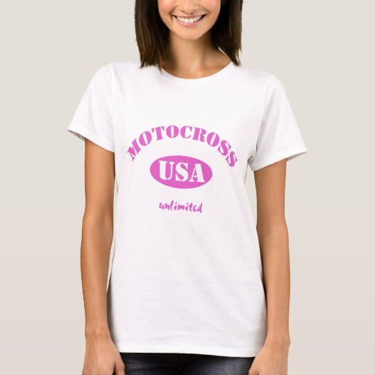 Camiseta Motocrós los E.E.U.U. ilimitado