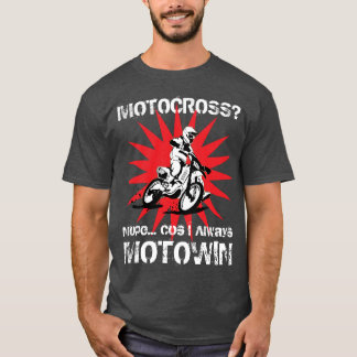 Camiseta ¿MOTOCRÓS? Nope… lechuga romana I siempre MOTOWIN