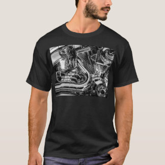 Camiseta Motor brillante de la moto