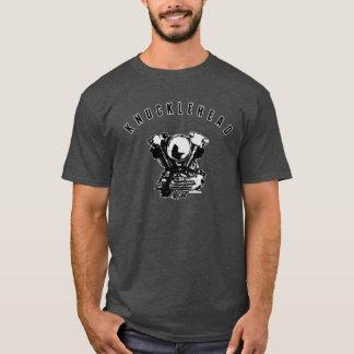 Camiseta Motor de la motocicleta del Knucklehead de Harley