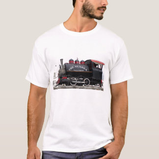 Camiseta Motor de vapor viejo del ferrocarril de Alaska,