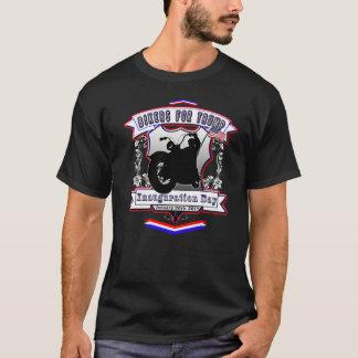 Camiseta Motoristas para el día de inauguración azul blanco