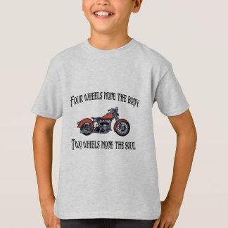 Camiseta Movimiento 717 de cuatro ruedas