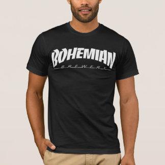 Camiseta Movimiento de piernas bohemio T - negro