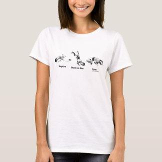 Camiseta Movimientos de Capoeira, defensa