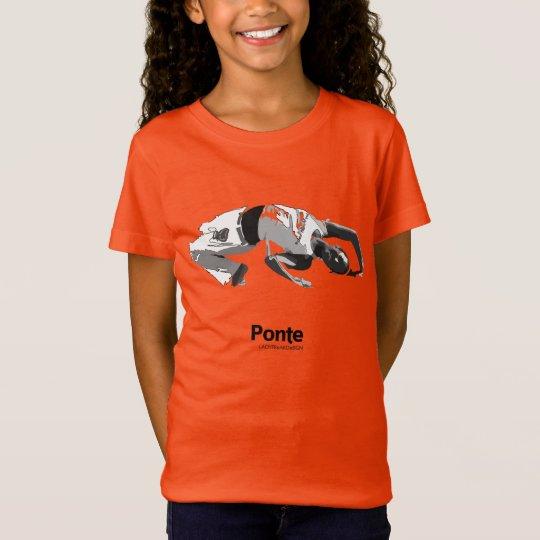 Camiseta Movimientos de Capoeira, ponte