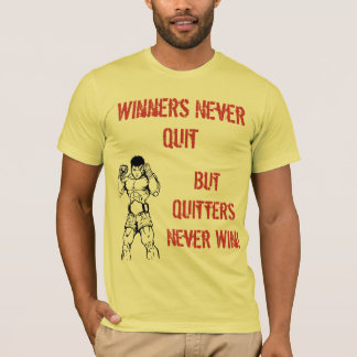 Camiseta muay-thai4, ganadores nunca abandonados, pero Ne