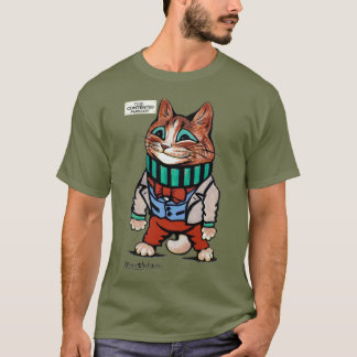 Camiseta Muchacho del gato, Louis Wain
