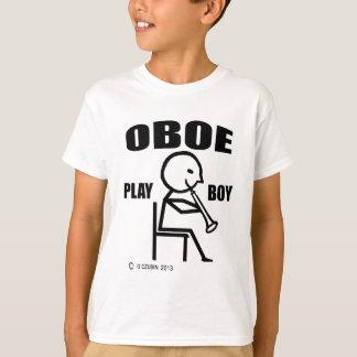 Camiseta Muchacho del juego de Oboe