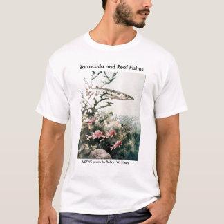 Camiseta Muchachos T/pescados del Barracuda y del filón