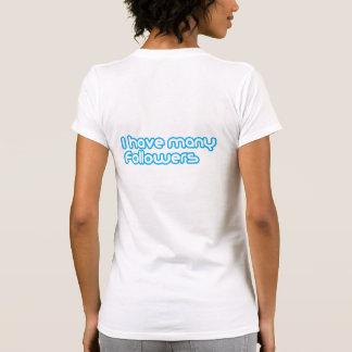 """Camiseta """"Muchos seguidores """""""