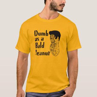 Camiseta Mudo como cacahuete calvo