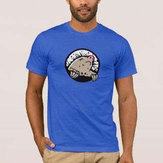 Camiseta muerta del topo