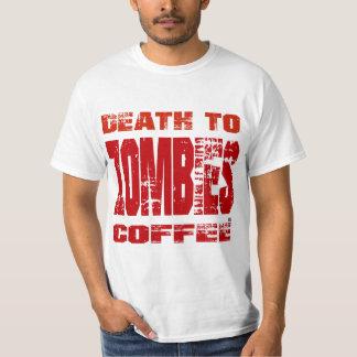 Camiseta Muerte al café de los zombis