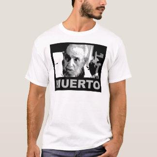 Camiseta Muerto de Castro (blanco al negro de y)