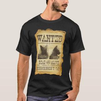Camiseta Muertos y vivo queridos.  El gato de Schroedinger