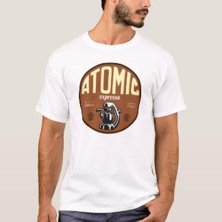 Camiseta Muestra atómica de la máquina de café express