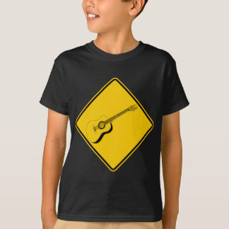 Camiseta Muestra de la carretera de la travesía de la