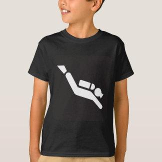 Camiseta Muestra del buceo con escafandra