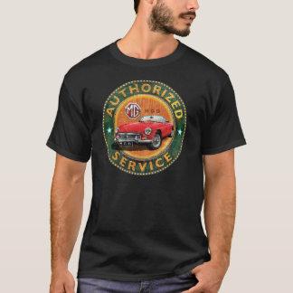 Camiseta Muestra del servicio del MGB del vintage